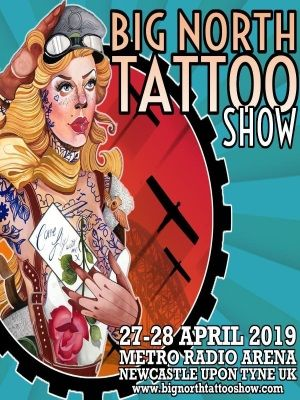 2 Alo Loco realistic black and grey full sleeve big north tattoo show april 2019